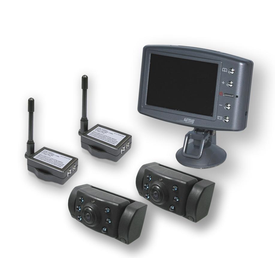 pro user r ckfahrkamera set duo 2 kameras powered by. Black Bedroom Furniture Sets. Home Design Ideas